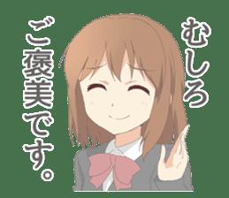 Cute mania girl Sticker sticker #9148490
