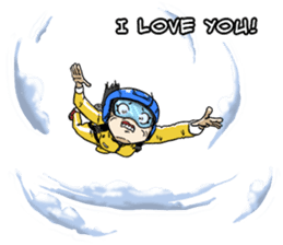 31 Days I love you 9 Days I hate you (F) sticker #9154646