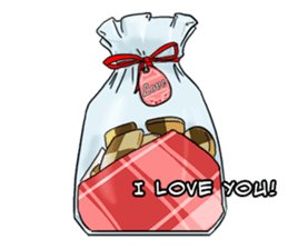 31 Days I love you 9 Days I hate you (F) sticker #9154654