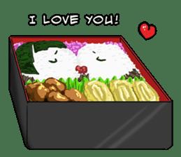 31 Days I love you 9 Days I hate you (F) sticker #9154657