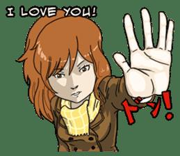 31 Days I love you 9 Days I hate you (F) sticker #9154661