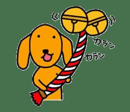 "The dog of healing ""HANA"" 3 sticker #9158614"