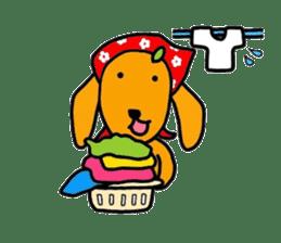 "The dog of healing ""HANA"" 3 sticker #9158618"