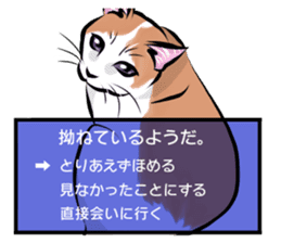 Lazy cat sticker + sticker #9159849