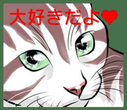 Lazy cat sticker + sticker #9159865