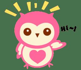 Cute Owl HOOPI's Daily Life sticker #9163152