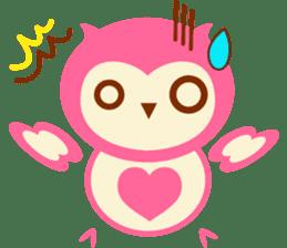 Cute Owl HOOPI's Daily Life sticker #9163154