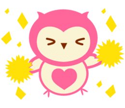 Cute Owl HOOPI's Daily Life sticker #9163158