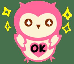Cute Owl HOOPI's Daily Life sticker #9163159