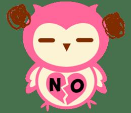 Cute Owl HOOPI's Daily Life sticker #9163160