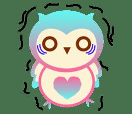 Cute Owl HOOPI's Daily Life sticker #9163163