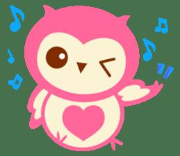 Cute Owl HOOPI's Daily Life sticker #9163168
