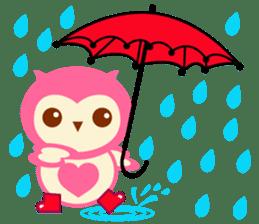Cute Owl HOOPI's Daily Life sticker #9163172