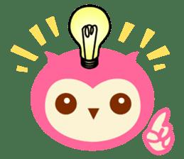 Cute Owl HOOPI's Daily Life sticker #9163173