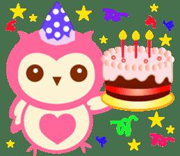 Cute Owl HOOPI's Daily Life sticker #9163174