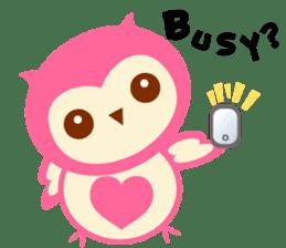 Cute Owl HOOPI's Daily Life sticker #9163176