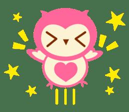 Cute Owl HOOPI's Daily Life sticker #9163177