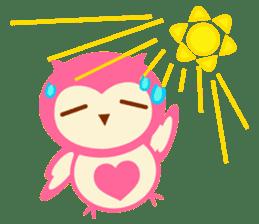 Cute Owl HOOPI's Daily Life sticker #9163182