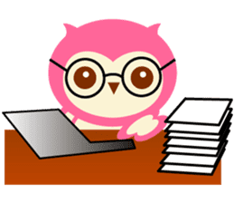 Cute Owl HOOPI's Daily Life sticker #9163183