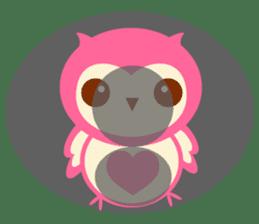 Cute Owl HOOPI's Daily Life sticker #9163185