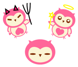 Cute Owl HOOPI's Daily Life sticker #9163188