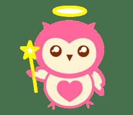 Cute Owl HOOPI's Daily Life sticker #9163189