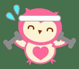 Cute Owl HOOPI's Daily Life sticker #9163191
