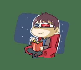 Normal Boy 2 sticker #9164368