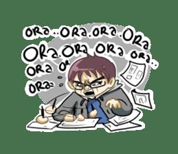 Normal Boy 2 sticker #9164384