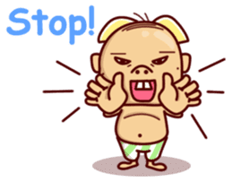 Uncle Ugly sticker #9165922