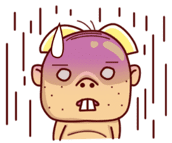 Uncle Ugly sticker #9165927