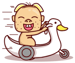 Uncle Ugly sticker #9165934