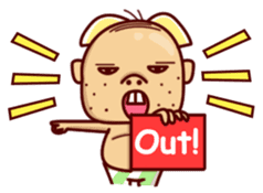 Uncle Ugly sticker #9165945