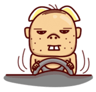 Uncle Ugly sticker #9165949