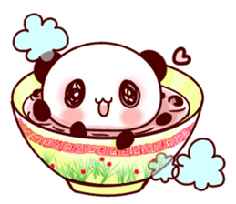 Full of panda every day! sticker #9174934