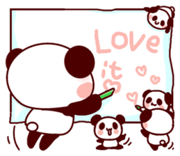 Full of panda every day! sticker #9174941