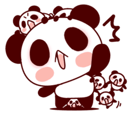 Full of panda every day! sticker #9174944