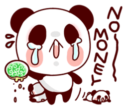 Full of panda every day! sticker #9174946