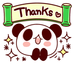 Full of panda every day! sticker #9174950