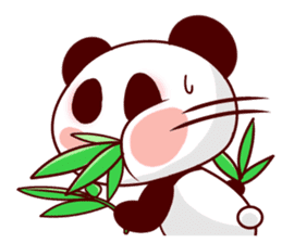 Full of panda every day! sticker #9174955