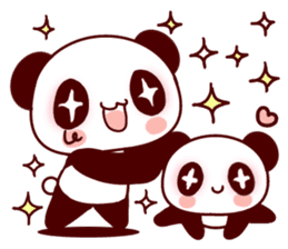 Full of panda every day! sticker #9174959