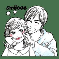 Doddle Couple in love sticker #9180083