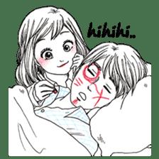 Doddle Couple in love sticker #9180092
