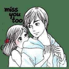 Doddle Couple in love sticker #9180095