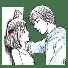 Doddle Couple in love sticker #9180099