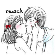 Doddle Couple in love sticker #9180103