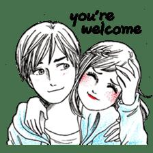 Doddle Couple in love sticker #9180105