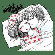 Doddle Couple in love sticker #9180107