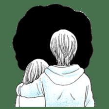 Doddle Couple in love sticker #9180112