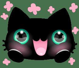 Black Kitty sticker #9182124